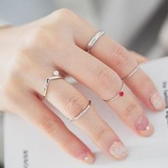 Ticoo - Set of 5: Ring