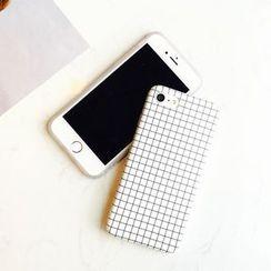 Milk Maid - 格子iphone6/6plus/7/7plus保護套