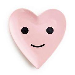 LIFE STORY - Smile Heart Ceramic Plate
