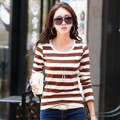 Zyote - Stripe Long-Sleeve T-shirt
