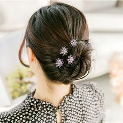 MI LI - Set of 4: Flower Hair Pin