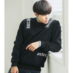 ABOKI - Cotton Appliqué Sweatshirt