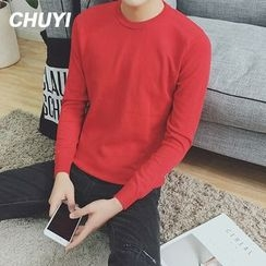 Chuoku - Plain Knit Pullover