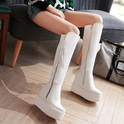 JY Shoes - Platform Tall Boots