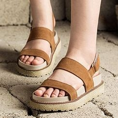 MIAOLV - Platform Strapped Sandals