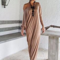Flobo - Dolman-Sleeve Maxi Dress
