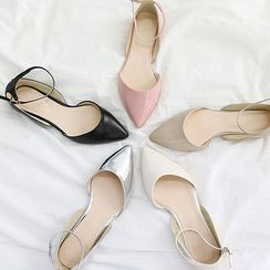 NANING9 - Ankle-Strap Flats