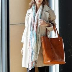 Jcstyle - Patterned Long Scarf