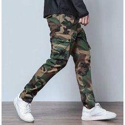 Bigboy - Camouflage Cargo Pants