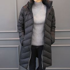DANI LOVE - Quilted Long Padded Coat