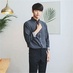 MITOSHOP - Long-Sleeve Cotton Shirt
