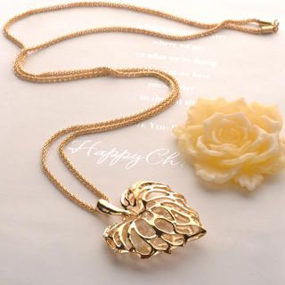 Fit-to-Kill - Heart Leaf Necklace