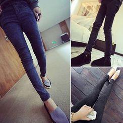 Yuki Ame - Washed Skinny Jeans