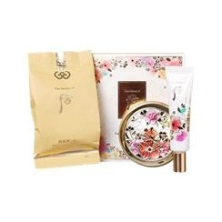 The History of Whoo 后 - Gongjinhyang Mi Luxury Golden Cushion Special Set: Cushion SPF50+ PA+++ With Refill (#21) + Cushion Base 15ml