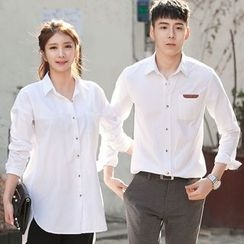 DANGOON - Couple Pocket-Front Shirt