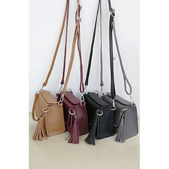 10WORLD - Tassel-Detail Cross body Bag
