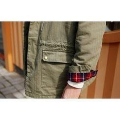 SCOU - Epaulet Zip-Detail Safari Jacket