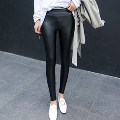 Fitight - Faux-Leather Leggings