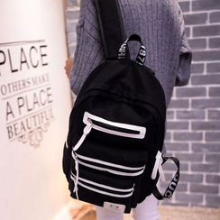 MooMoo Bags - Contrast Canvas Backpack