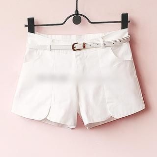 Munai - Petal-Hem Shorts