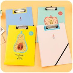 Cutie Bazaar - Fruit Print Clip Folder