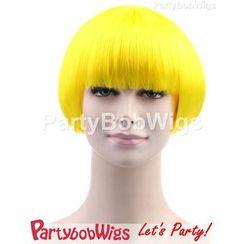Party Wigs - PartyBobWigs - 派对BOB款短假发 - 萤光黄