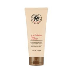 The Face Shop - Clean Face Acne Solution Foam Cleansing 150ml