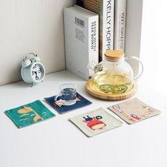Home Simply - Linen Coaster