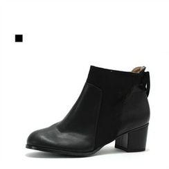MODELSIS - Zip-Side Boot(2 Designs)
