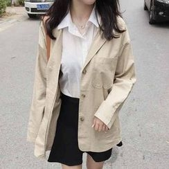 Rollis - Pocketed Trench Coat