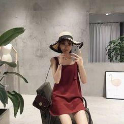 YOSH - Mini Pinafore Dress