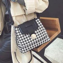 Youshine - Houndstooth Shoulder Bag