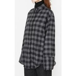 Someday, if - Checked Cotton Shirt