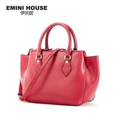 Emini House - Genuine Leather Handbag