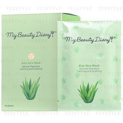 My Beauty Diary - Aloe Vera Mask (English Version)