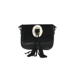 DABAGIRL - Tasseled Flap Shoulder Bag