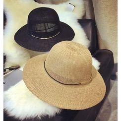 FROME - 金屬環草帽