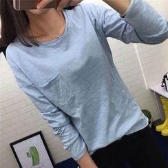 Lacyland - Long Sleeve Crewneck T-Shirt