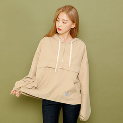 Envy Look - Half-Zip Hooded Pullover