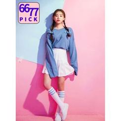 icecream12 - Colored Oversized T-Shirt