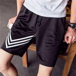 JVR - Print Drawstring Shorts