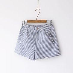 Bonbon - Striped Shorts