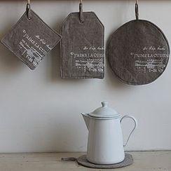 Goodwood - Printed Linen Cotton Hot Mat