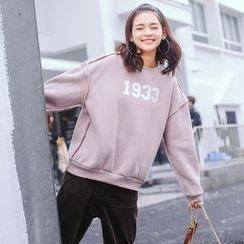 Ashlee - Numbering Sweatshirt