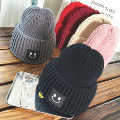FROME - Smiley Applique Beanie