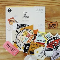 BABOSARANG - 'VINTAGE LABEL' Sticker Set