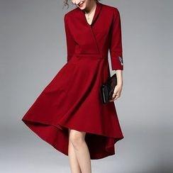 Wisteria - Collared Dress