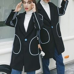 Bay Go Mall - Couple Matching Long Coat