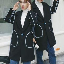 百高 - 情侶款長款大衣