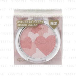 ettusais - Heart Cheek Color with Original Puff #PK (Limited Edition)